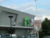 """Giant iPod ad on """"Palais des Congrès"""""""